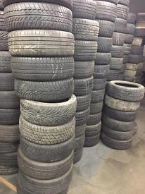 215 60 17 part worn tyres cheap In london and Romford Essex