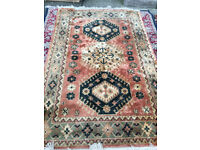 Gorgeous Traditional Oriental 100% Knotted Wool Rug