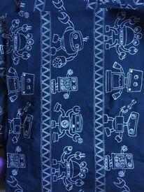 John Lewis kids Robot curtains