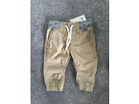 Boys Trousers 3-6 Mths NEVER WORN