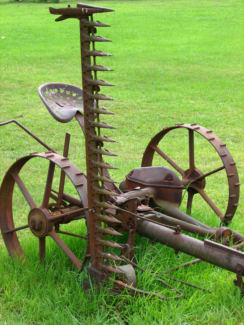 WANTED Old farm relics, tractors, ploughs, sickle mower windmill
