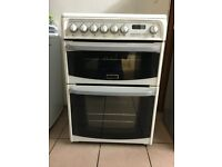 Cannon electric cooker ceramic 60cm double oven 3 months warranty free local delivery!!!!