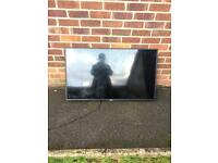 50 inch smart TV ( for parts )