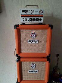 Orange micro terror stack.