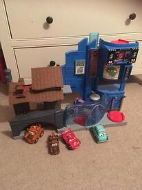 Disney Cars Playset