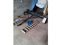 Towing dolly with new lights bar