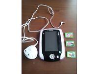 LeapFrog LeapPad2 Learning Tablet (Dark pink) + 3 games