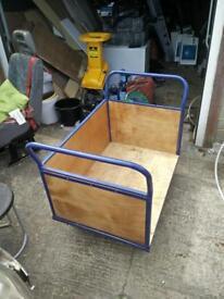 Heavy duty box trolley