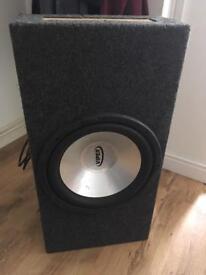 Viper sub and amp