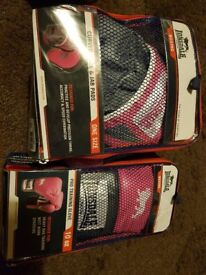 Lonsdale Pink boxing gloves/pads/wraps