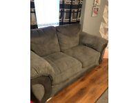 Grey 3 & 2 sofa