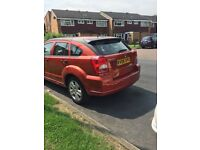 Dodge Caliber (Orange coulor. Has new MOT Certificate)