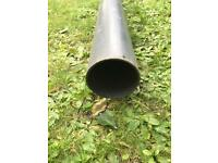 6 meter long x 95mm diameter Plain Ended Underground Pipe