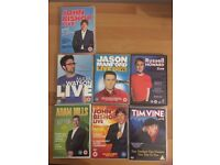 Selection of 7 Stand Up Comedy DVDs Tim Vine Jason Manford Russell Howard Adam Hills Mark Watson