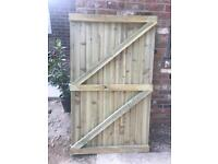 Brand New Garden Gate 1800 high x 1080 wide