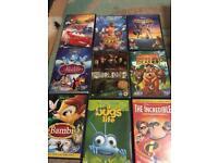 20 odd Disney dvds