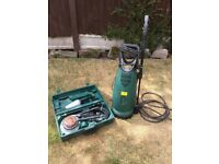 Gerni Pressure Washer Hobbyline 110 with fully boxed Accessories