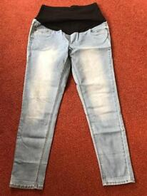 3 Pairs of Maternity Jeans size 12