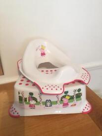 Toddler Toilet Seat & Step - Peppa Pig