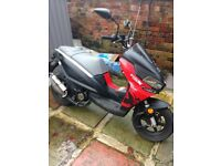 spares or repair benelli 49x scooter 60 plate