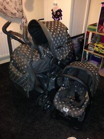 Mamas & Papas pram/pushchair and matching car seat