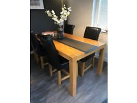 Natural Solid Oak 6 ft Dining Table / Kitchen Table / Oak furniture / Table Only