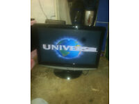 "for sale 22"" hd lcd widescreen tv with freeview and dvd player £25"