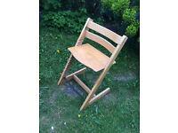 Trip Trap high chair.