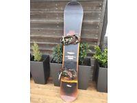 Burton Bullet 162cm Snowboard and Burton Camo Mission Bindings - Superb Package!!