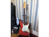 Fender 60's Stratocaster fiesta red