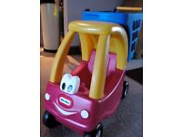 Little tikes coupe shopping trolley to take dolls for a ride...
