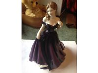 ROYAL DOULTON - LOUISA. PRETTY LADIES COLLECTION. MINT CONDITION