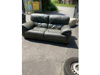 Large 2 seater + matching chair