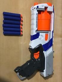NERF N-Strike Elite Strongarm & 6 Darts - £15 ONO