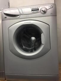 Hotpoint silver good looking 7kg 1200spin washing machine cheap