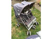 Maclaren twin techno double pushchair / stroller