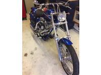 Harley sportsters chopper