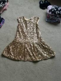 Girls M&S dress age 9-10