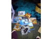 8 packs unopened lego 5-12 yrs