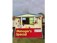 Stunning affordable caravan Turnberry Holiday Park not Craig Tara not Sandylands