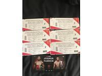 Anthony Joshua vs Joseph Parker Boxing (Cardiff)