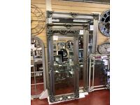 MIRROR WAREHOUSE New Large full length mirrors 5-8ft tall £89-£599