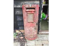 King Edward VIII Post Box Front 1936