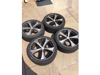 17 inch RS alloy wheels