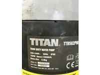Titan Dirty water pump 750W