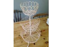 Shabby chic Cup cake stand