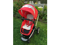 Mothercare My4 / My Choice Buggy and optional buggy board