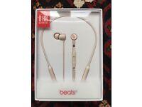 BeatsX Earphones - Matte Gold, New/Sealed Box... (or trade for Black BeatsX [Sealed])