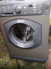 Spares or repair Hotpoint Aquarius WMF720 washing machine graphite grey