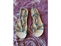 Sandals size 7/8 New